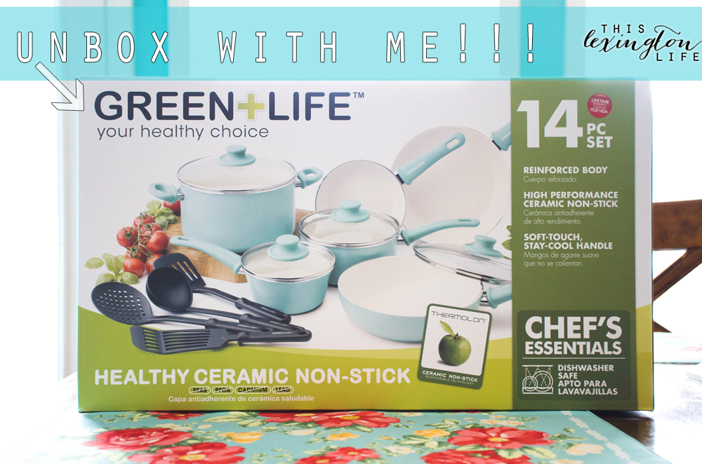 Unboxing My New GreenLife Turquoise Pots and Pans