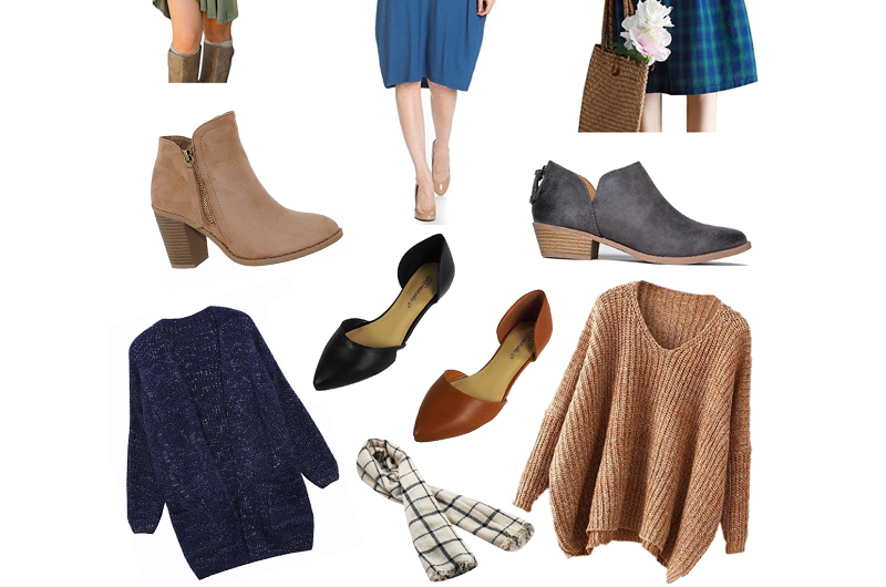 Fall Capsule Wardrobe Wishlist