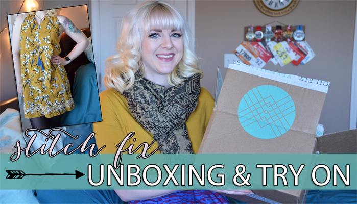 Stitch Fix Unboxing & Try On   April 2018