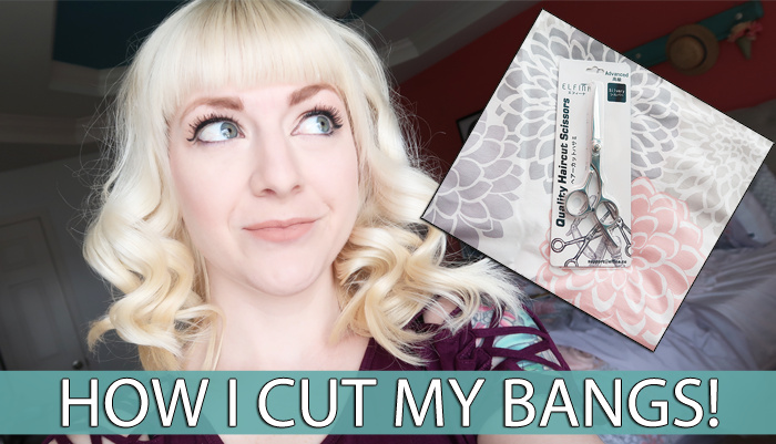 How To Cut Your Own Bangs