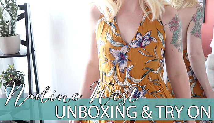 Nadine West Unboxing & Try On | August 2018