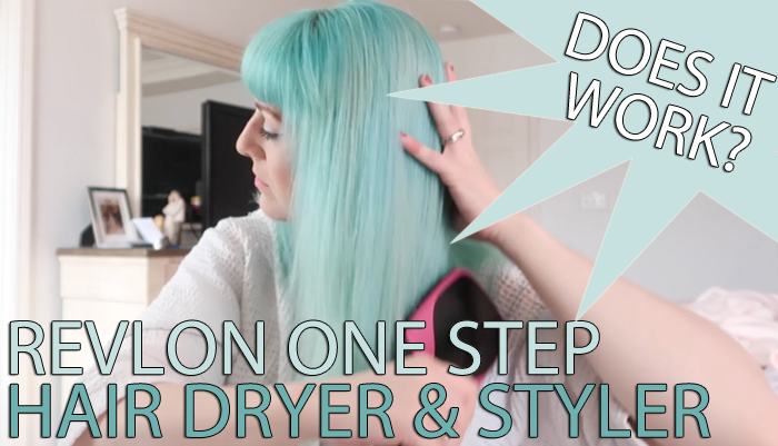 Revlon One Step Hair Dryer & Styler – Does It Work?!
