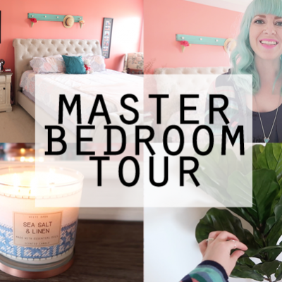 Master Bedroom Makeover Room Tour!