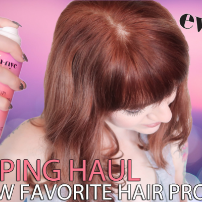 Eva NYC Shopping Haul – My New Favorite Hair Products!