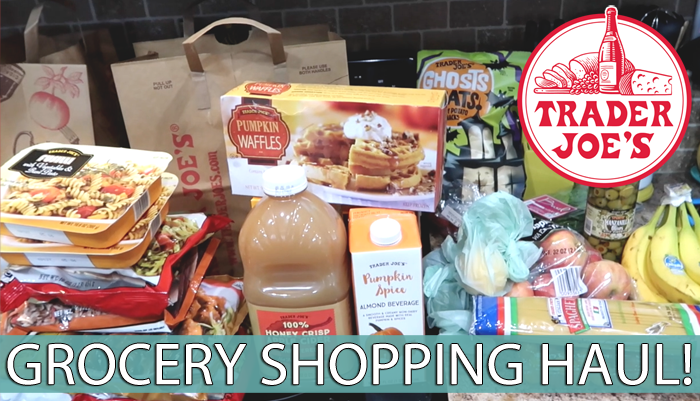 Trader Joe's Grocery Shopping Haul   Fall 2018