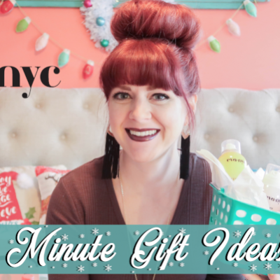 Last Minute Christmas Gift Ideas with Eva NYC!