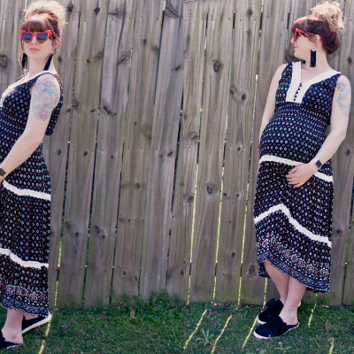 What I Wore: 37 Weeks Pregnant + Spring Vibes