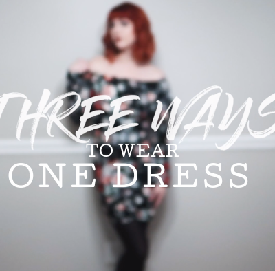 One Dress Worn Three Ways