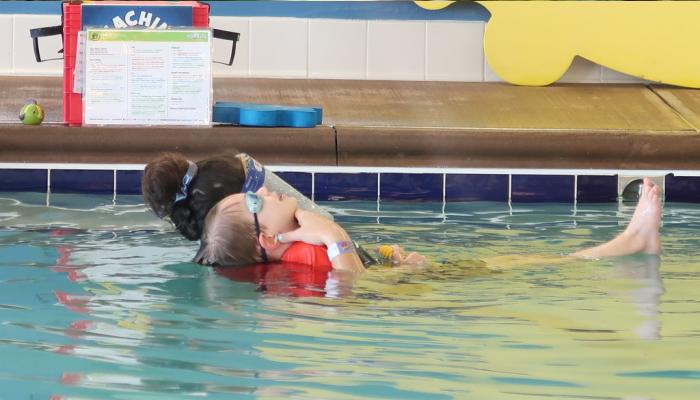 Swim Class at AquaTots