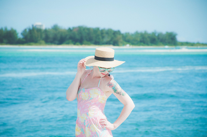 What I Wore: Secluded Beaches in Siesta Key