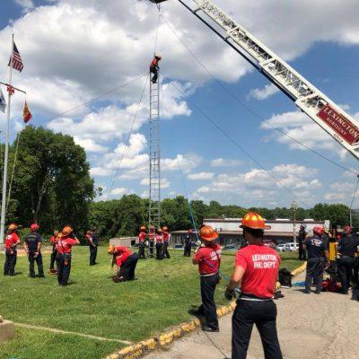 Celebrating My Firefighter! Graduation Day!