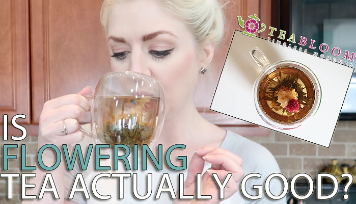 TeaBloom – The Prettiest Flowering Tea Review!