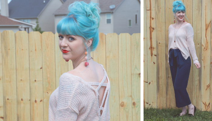What I Wore Wednesday: Slouchy Sweaters & Red Lips