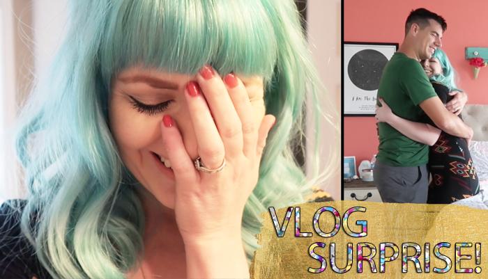 VLOG – A Surprise!!