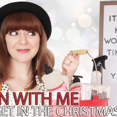 Clean & Decorate With Me! Christmas Is Coming!