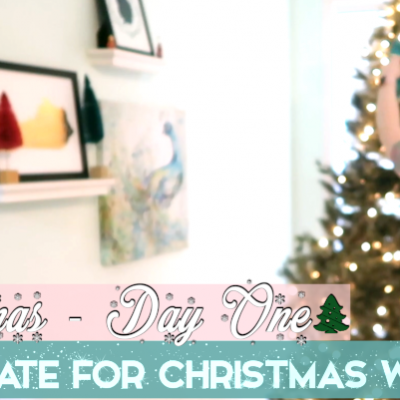 Decorate For Christmas With Me – Vlogmas Day 1