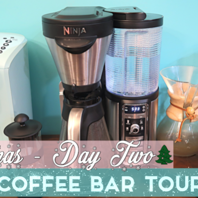 New Coffee Bar Tour! | Vlogmas Day 2