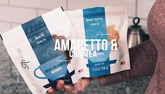 How To Make Amaretto Rooibos & Chai Tea